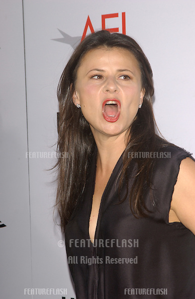 Actress/comedienne TRACY ULLMAN at the American Film Institute Life Achievement Award, at the Kodak Theatre, Hollywood, honoring Meryl Streep..June 10, 2004