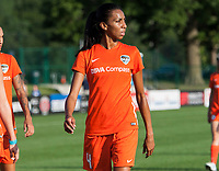 Kansas City, MO - Sunday July 02, 2017:  Bruna Benites leaving the pitch before the regular season National Women's Soccer League (NWSL) match between FC Kansas City and the Houston Dash at Children's Mercy Victory Field.