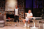 """Brenda Withers & Malachy Cleary star in """"Other Desert Cities"""" at the tech rehearsal (in costume) on October 14, 2015 at Whippoorwill Halll Theatre, North Castle Library, Kent Place, Armonk, New York.  (Photo by Sue Coflin/Max Photos)"""