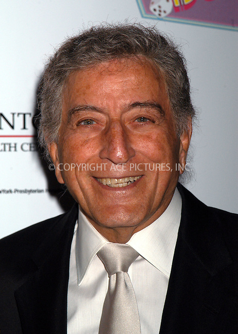 Tony Bennett attending the 'Evening of Music From Guys And Dolls' in New York. February 23, 2004. Please byline: AJ SOKALNER/ACE Pictures.   ..*PAY-PER-USE*      ....IMPORTANT: Please note that our old trade name, NEW YORK PHOTO PRESS (NYPP), is replaced by new name, ACE PICTURES. New York Photo Press and ACE Pictures are owned by All Celebrity Entertainment, Inc.......All Celebrity Entertainment, Inc:  ..contact: Alecsey Boldeskul (646) 267-6913 ..Philip Vaughan (646) 769-0430..e-mail: info@nyphotopress.com