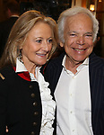 Ralph Lauren and Ricky Anne Loew-Beer attending the opening night performance for 'Springsteen on Broadway' at The Walter Kerr Theatre on October 12, 2017 in New York City.
