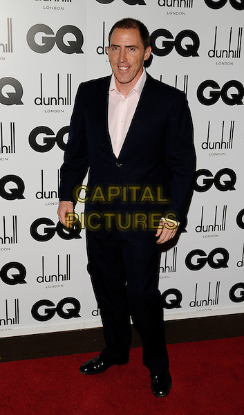 ROB BRYDON.Inside arrivals at the GQ Men of the Year Awards at the Royal Opera House, Covent Garden, London, England. .September 2nd 2008.full length black suit .CAP/CAN.©Can Nguyen/Capital Pictures.
