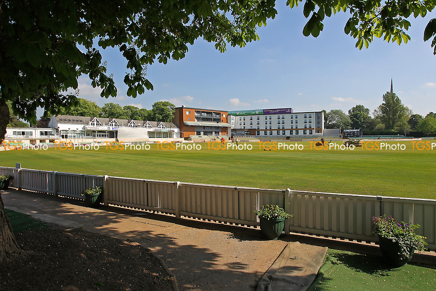 General view ahead of play on Day One - Worcestershire CCC vs Essex CCC - LV County Championship Division Two Cricket at New Road, Worcester- 18/05/14 - MANDATORY CREDIT: Gavin Ellis/TGSPHOTO - Self billing applies where appropriate - 0845 094 6026 - contact@tgsphoto.co.uk - NO UNPAID USE