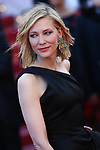 Cannes Film Festival 2018 - 71st edition - Day 5 - May 12 in Cannes, on May 12, 2018; La montée des femmes - Screening 'Les filles du soleil'. Cate Blanchett, Australian actress and President of the Jury © Pierre Teyssot / Maxppp