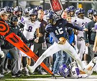 NWA Democrat-Gazette/BEN GOFF @NWABENGOFF<br /> Fayetteville vs Springdale Har-Ber Friday, Nov. 2, 2018, during the game at Wildcat Stadium in Springdale.