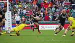 Isaac Te Tamaki. The All Blacks Sevens beat Australia 24-10. London, England. Photo: Marc Weakley