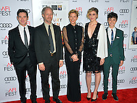 LOS ANGELES, CA. November 16, 2016: Actor Billy Crudup, director Mike Mills &amp; actresses Annette Bening &amp; Greta Gerwig &amp; actor Lucas Jade Zumann at the gala screening for &quot;20th Century Women&quot;, part of the AFI FEST 2016, at the TCL Chinese Theatre, Hollywood.<br /> Picture: Paul Smith/Featureflash/SilverHub 0208 004 5359/ 07711 972644 Editors@silverhubmedia.com