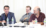 Bobby Cannavale, David Harbour & Richard Schiff attending the 'Glengarry Glen Ross' Media Day at Ballet Hispanico Rehearsal Studios in New York City on 9/19/2012.