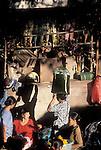 Market Scene, Ubud, Bali, Indonesia