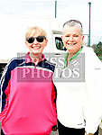 Majella Hilliard and Eimear Ferguson who took part in the St. Colmcilles 10K run. Photo:Colin Bell/pressphotos.ie