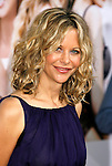 "WESTWOOD, CA. - September 04: Actress Meg Ryan arrives at the Los Angeles Premiere of ""The Women"" at the Mann Village Theater on September 4, 2008 in Westwood, California."