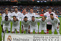 Real Madrid team against Getafe CF