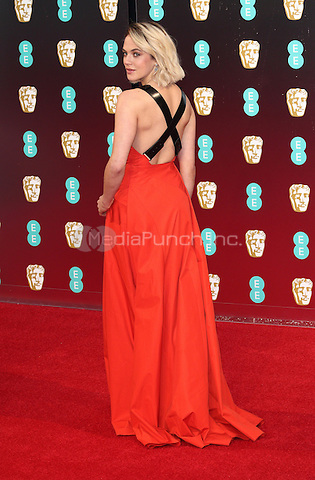 Jessica Brown-Findlay at the 70th British Academy Awards - BAFTAS - arrivals at the Royal Albert Hall, London on February 12th 2017<br /> CAP/ROS<br /> &copy;Steve Ross/Capital Pictures /MediaPunch ***NORTH AND SOUTH AMERICAS ONLY***