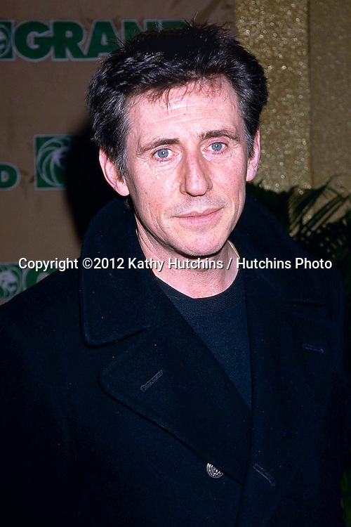 LAS VEGAS - FEB 15:  Gabriel Byrne arrives at the Studio 54 Grand Opening at MGM Grand on February 15, 1998 in Las Vegas, NV
