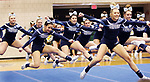 WATERBURY CT. 16 February 2018-021619SV12-Oxford High competes in the NVL Cheerleading Championship at Crosby High School in Waterbury Saturday.<br /> Steven Valenti Republican-American