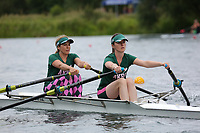 Race: 64  W.2x (Band 3)  Heat 2<br /> <br /> Peterborough Summer Regatta 2018 - Sunday<br /> <br /> To purchase this photo, or to see pricing information for Prints and Downloads, click the blue 'Add to Cart' button at the top-right of the page.