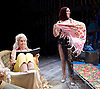Grey Gardens<br /> Book by Doug Wright<br /> Music by Scott Frankel<br /> Lyrics by Michael Korie<br /> produced by Danielle Tarento<br /> at The Southwark Playhouse, London, Great Britain <br /> press photocall<br /> 7th January 2016 <br /> <br /> directed by Thom Southerland<br /> <br /> <br /> Sheila Hancock as Edith Bouvier Beale<br /> <br /> Jenna Russell as 'Little' Edie Beale<br /> <br /> <br /> Photograph by Elliott Franks <br /> Image licensed to Elliott Franks Photography Services