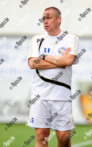 2014-07-19 / Voetbal / seizoen 2014-2015 / ASV Geel / Eric Franken<br /><br />Foto: mpics.be