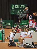 14-sept.-2013,Netherlands, Groningen,  Martini Plaza, Tennis, DavisCup Netherlands-Austria, Doubles,   <br /> Photo: Henk Koster