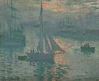"FRAMED SILVER FLOAT Monet Canvas Framed in Silver Float, Framed Dimensions 41"" x 34"" x 2"""