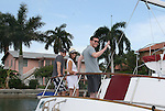 12th Annual SoapFest - Actors take a break on the Ramblin' Rose with Ken as the captain on May 15, 2010 on Marco Island, FLA. (Photo by Sue Coflin/Max Photos)