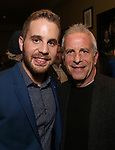 Ben Platt and Marc Platt attends the After Party for the Dramatists Guild Foundation toast to Stephen Schwartz with a 70th Birthday Celebration Concert at The Hudson Theatre on April 23, 2018 in New York City.