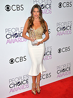 Sof&iacute;a Vergara at the 2017 People's Choice Awards at The Microsoft Theatre, L.A. Live, Los Angeles, USA 18th January  2017<br /> Picture: Paul Smith/Featureflash/SilverHub 0208 004 5359 sales@silverhubmedia.com