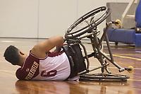 SÃO PAULO,SP, 21.03.2017 - PARAPAN-JUVENTUDE -  Basquete em Cadeira Masculino - Brasil vence Venezuela no CT Paralímpico Brasileiro, no Parapan da Juventude em São Paulo nesta terça-feira, 21. (Foto: Danilo Fernandes/Brazil Photo Press)
