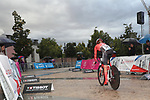 Floortje Mackau (NED) Team Sunweb in action during Stage 1 of the Ceratizit Madrid Challenge by La Vuelta 2019 running 9.3km individual time trial around Boadilla del Monte, Spain. 14th September 2019.<br /> Picture: Luis Angel Gomez/Photogomezsport | Cyclefile<br /> <br /> All photos usage must carry mandatory copyright credit (© Cyclefile | Luis Angel Gomez/Photogomezsport)