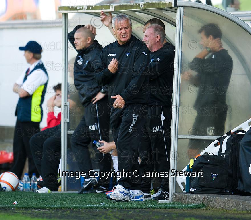 Dunfermline boss Jim Jeffries.