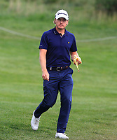 Pontus Widegren (SWE) on the 10th fairway during Round 4 of the D+D Real Czech Masters at the Albatross Golf Resort, Prague, Czech Rep. 03/09/2017<br /> Picture: Golffile   Thos Caffrey<br /> <br /> <br /> All photo usage must carry mandatory copyright credit     (&copy; Golffile   Thos Caffrey)