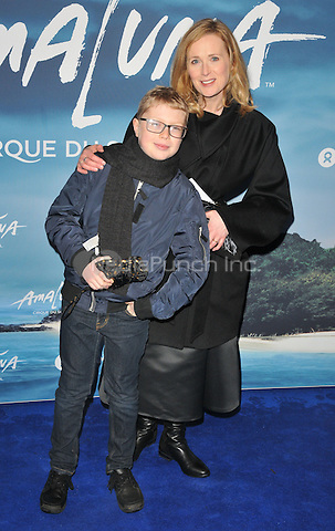 guest and Natasha Little at the &quot;Cirque du Soleil: Amaluna&quot; press night, Royal Albert Hall, Kensington Gore, London, England, UK, on Thursday 12 January 2017.  <br /> CAP/CAN<br /> &copy;CAN/Capital Pictures /MediaPunch ***NORTH AND SOUTH AMERICAS ONLY***