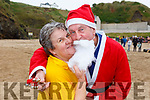 Mary Murphy and Pat Scannell at the annual Connie Hartnett Memorial swim in Ballybunion on New Years Day.