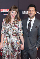 Emily V. Gordon and Kumail Nanjiani attend the BAFTA Los Angeles Awards Season Tea Party at Hotel Four Seasons in Beverly Hills, California, USA, on 06 January 2018. Photo: Hubert Boesl - NO WIRE SERVICE - Photo: Hubert Boesl/dpa /MediaPunch ***FOR USA ONLY***
