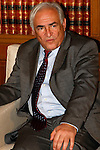 DOMINIQUE STRAUSS-KAHN, the head of the International Monetary Fund visit's Athens as Greece negotiates the terms of extending the repayment of the three-year bailout.