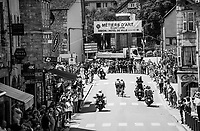 race passage in the village of Arbois<br /> <br /> 104th Tour de France 2017<br /> Stage 8 - Dole &rsaquo; Station des Rousses (187km)