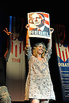 "Actress Brooke Smith of ""Grey's Anatomy"" speaks at a rally for Ralph Nader and other third party candidates at the University of Denver the same week the Democratic National Convention is in Denver, Colorado on August 27, 2008.  Organizers estimated a crowd of 4,000."