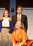 Curtain Call of Mary, Mary on opening night: , Natasha Edwards, Grant Aleksander (Guiding Light and All My Children), Katharine McLeod  at Cape May Stage and directs Mary, Mary on opening night June 18, 2015 at Cape May Stage (Robert Shackleton Playhouse) in Cape May, New Jersey. (Photos by Sue Coflin/Max Photos)