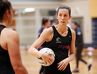 10.09.2018 Silver Ferns Bailey Mes during the Silver Ferns training in Auckland. Mandatory Photo Credit ©Michael Bradley.