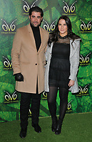 Matt Johnson and Kat Shoob at the OVO by Cirque du Soleil press night, Royal Albert Hall, Kensington Gore, London, England, UK, on Wednesday 10 January 2018.<br /> CAP/CAN<br /> &copy;CAN/Capital Pictures
