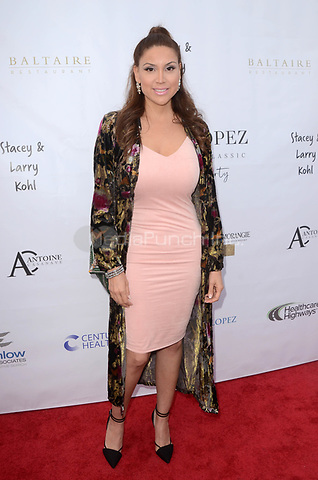 LOS ANGELES, CA - MAY 6: Samantha Bless at the 11th Annual George Lopez Foundation Celebrity Golf Classic Pre-Party, Baltaire Restaurant, Los Angeles, California on May 6, 2018. David Edwards/MediaPunch