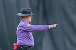 Field umpire Clive Howard reacts during the DTC Hong Kong T20 Blitz match between HKI United vs City Kaitak on 12 March 2017, in Tin Kwong Road Recreation Ground, Hong Kong, China. Photo by Chris Wong / Power Sport Images
