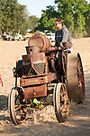 EDGE & TA Branch 158 Threshing Show and old-time harvest..Farm fresh 1917 Avery tractor