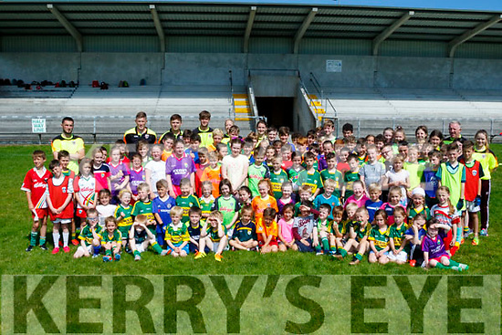 Moyvane GAA club had a massive turnout for their children camp last Monday.