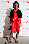 Annie star Quvenzhane Wallis arrives at the Annie For Target collection celebration and pop-up shop at Stage 37 in New York City on November 4, 2014.