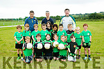 Churchill GAA U6's at the John Mitchels GAA  Juvenile tournament on Saturday