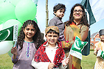 The Khokhar Family celebrating Pakistani Independence Day in Rose Hall...Picture Jenny Matthews/Newsfile.ie
