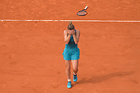 Simona Halep of Romania celebrates after winning the final during Day 14 of the French Open 2018 on June 9, 2018 in Paris, France. (Photo by Baptiste Fernandez/Icon Sport)