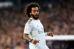 Marcelo Vieira of Real Madrid during La Liga match between Real Madrid and Real Sociedad at Santiago Bernabeu Stadium in Madrid, Spain. February 06, 2020. (ALTERPHOTOS/A. Perez Meca)