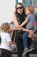 Angelina Jolie spends the day with her kids in South of France after her latest UN mission in Iraq _